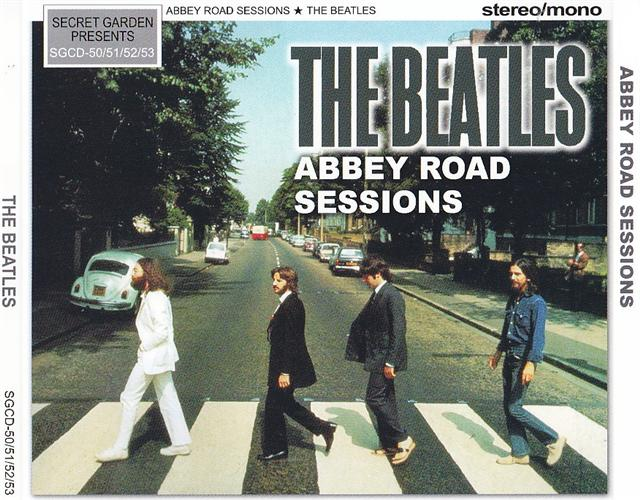 Beatles The Abbey Road Sessions 4CD Secret Garden SGCD 50 51