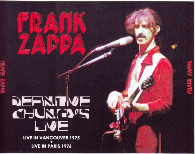 frank zappa definitive chungas live 3pro cdr red zapp 012 abc discjapan. Black Bedroom Furniture Sets. Home Design Ideas