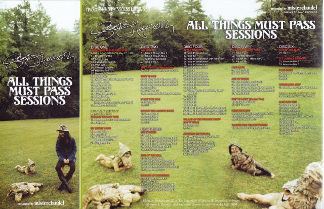 Georgehar All Things Pass Sessions2