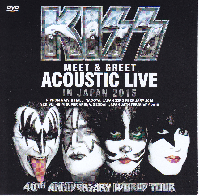 Kiss Meet Greet Acoustic Live In Japan 2015 1single Dvdr
