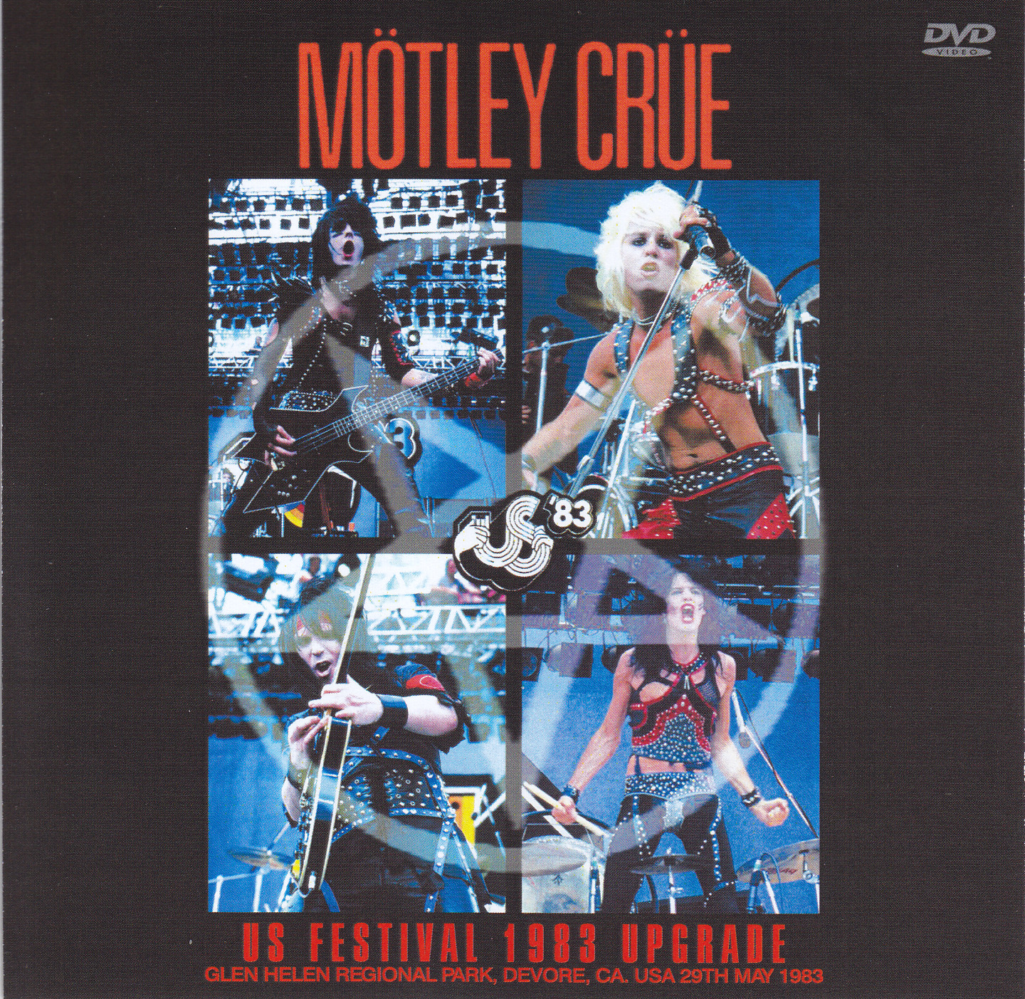 Motley Crue – US Festival 1983 Upgrade (1Single DVDR) | DiscJapan