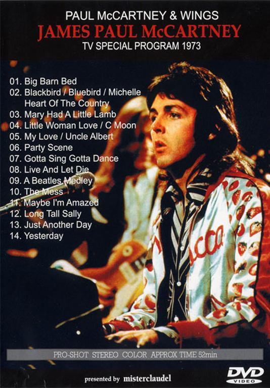 Paul McCartney & Wings - James Paul McCartney (1DVD) Misterclaudel