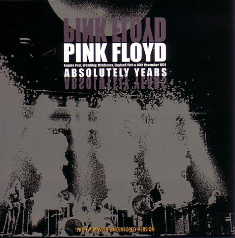 Pink Floyd Absolutely Years 2cd Sirene 119 Discjapan
