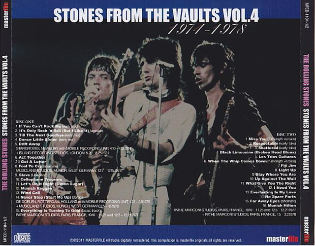 Rolling Stones, The - Stones From The Vaults Vol 4 (2CD) Masterfile   MFCD-1104-1/2