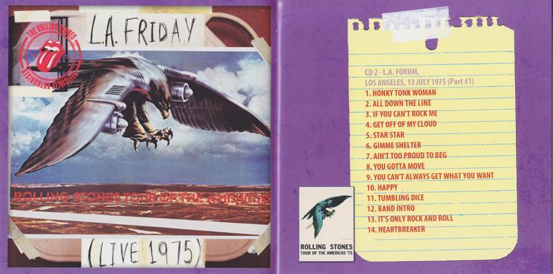 Rolling Stones, The - Bootleg Series Plus (12CD+2DVD Box Set) Wonderland  Record  WLR-2181