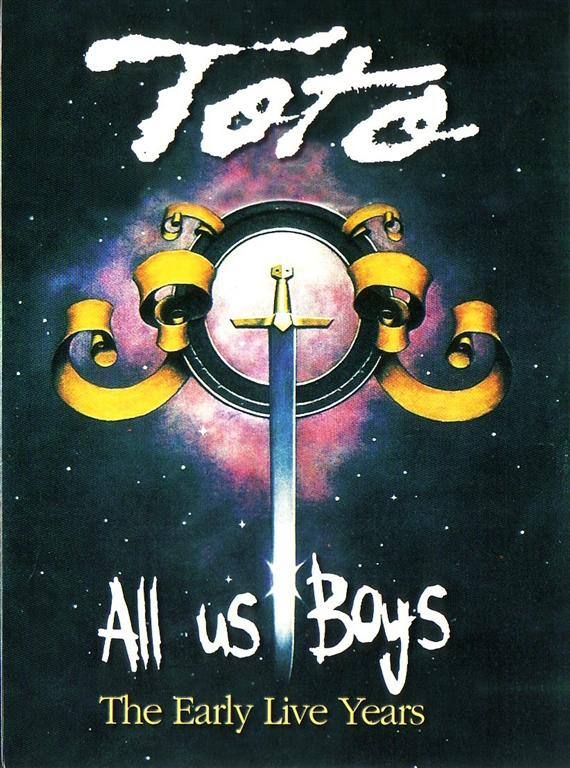 TOTO – All Us Boys – The Early Live Years (1DVD Digpak) Apocalypse ...