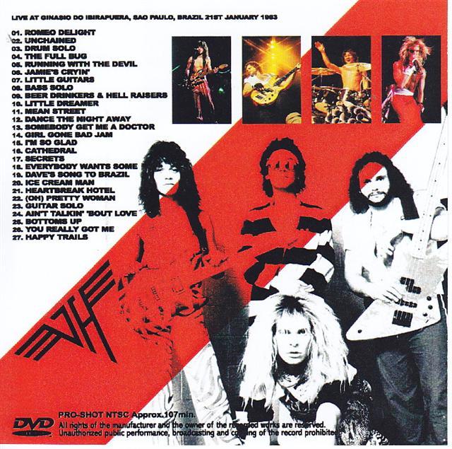 Van Halen Diver Down Brazil 1single Dvdr Discjapan
