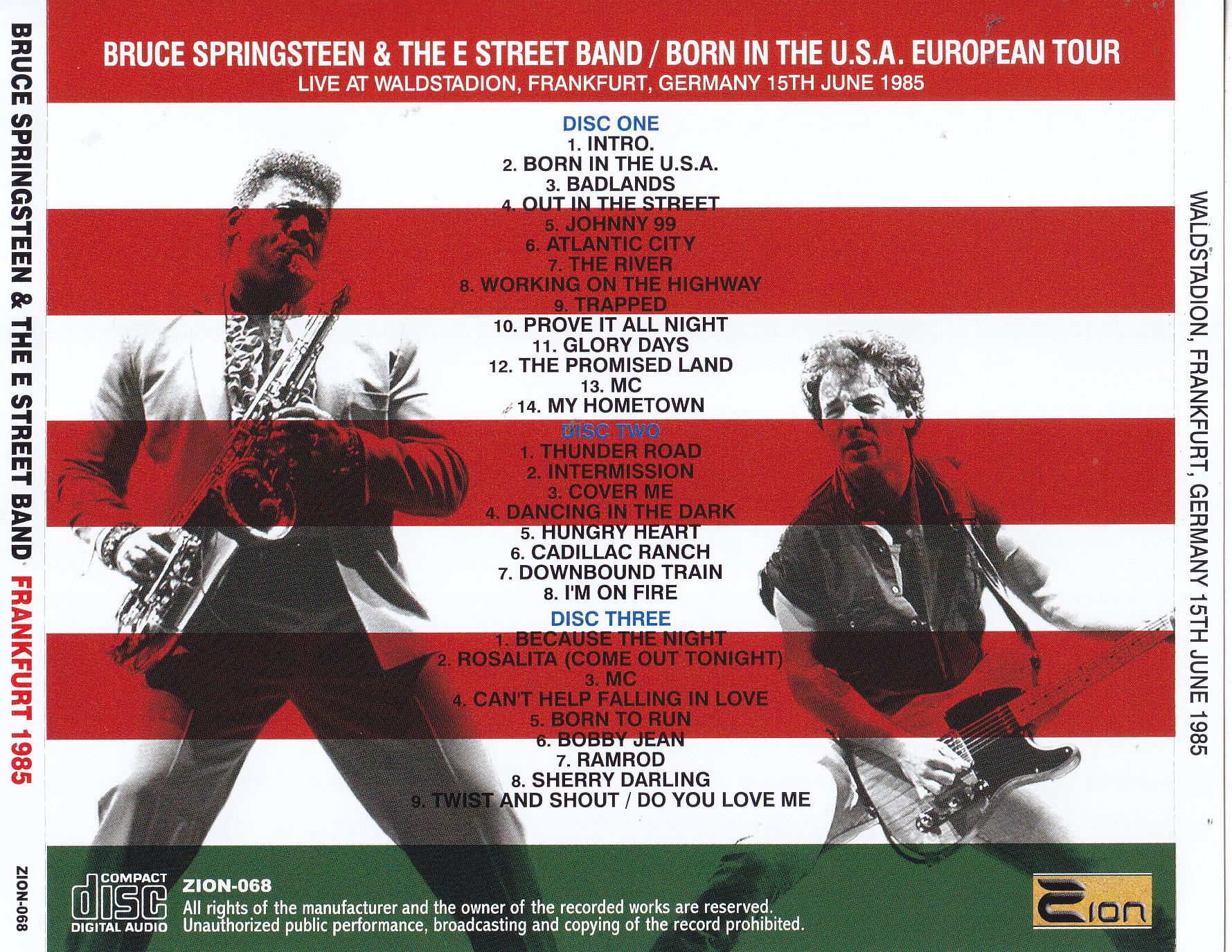 Bruce Springsteen Frankfurt