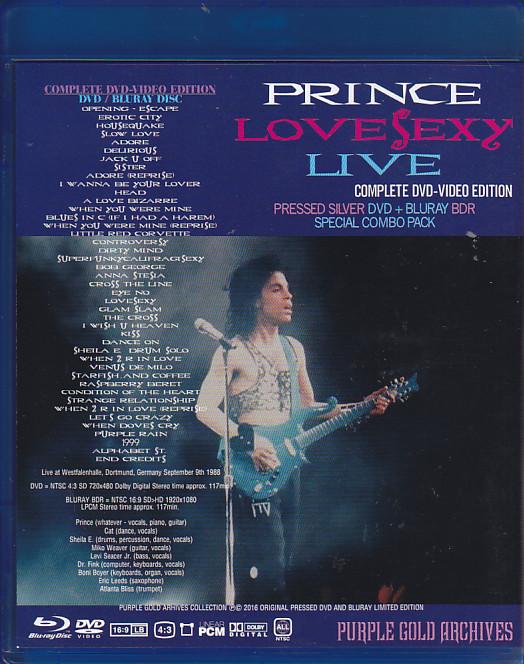 Prince lovesexy live 2