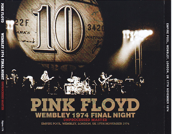 Pink Floyd Wembley 1974 Final Night Unprocessed Master3cd