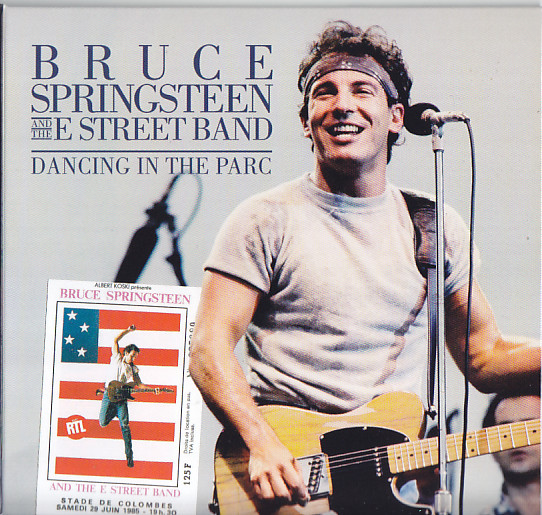 Bruce Springsteen And The E Street Band Dancing In The