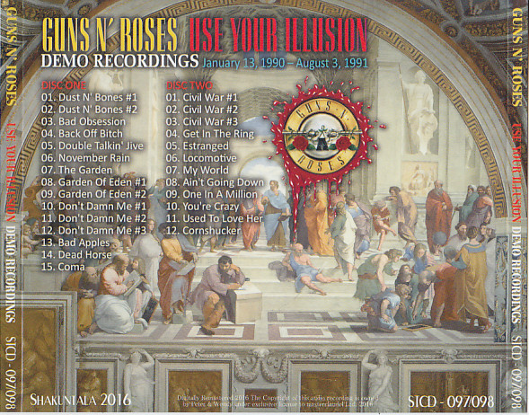 Guns N Roses - Use Your Illusion Demo Recordings (2CD With OBI Strip)  Shakuntala  STCD-097/98
