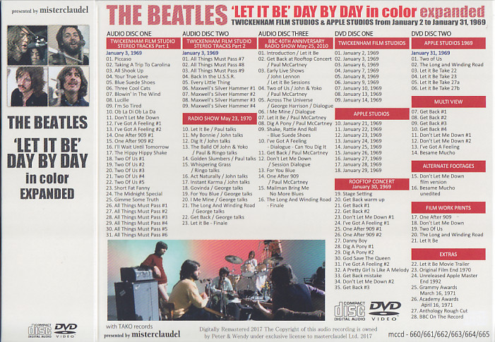 the beatles let it be deluxe 35mm widescreen stereo edition
