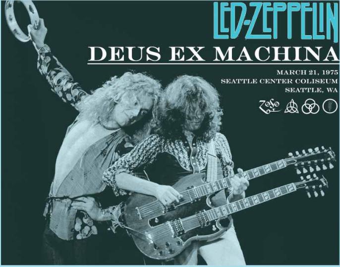 Led Zeppelin - Deus Ex Machina (4CD) Eelgrass 20265/266/267/268