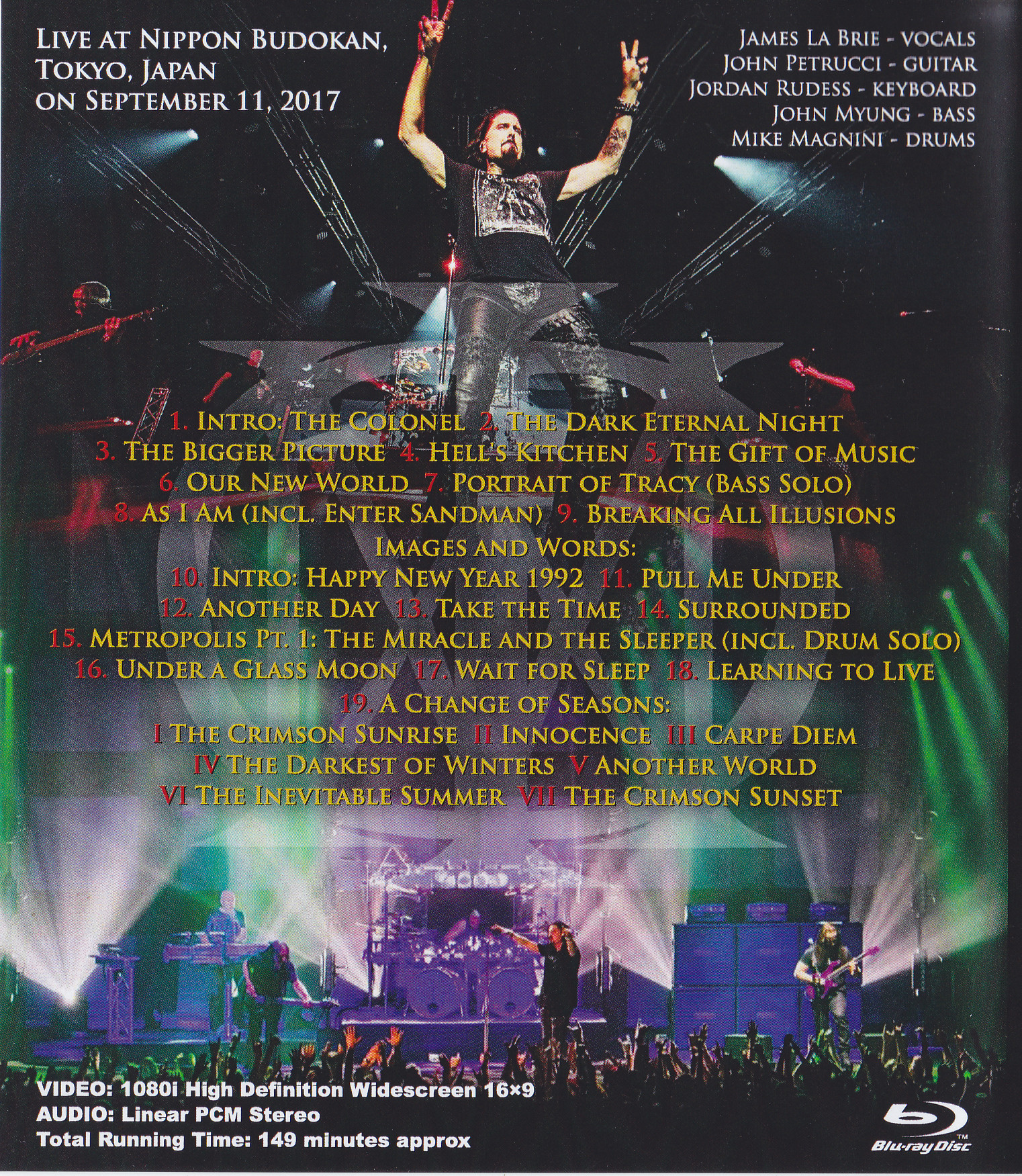 dream theater live at budokan cd