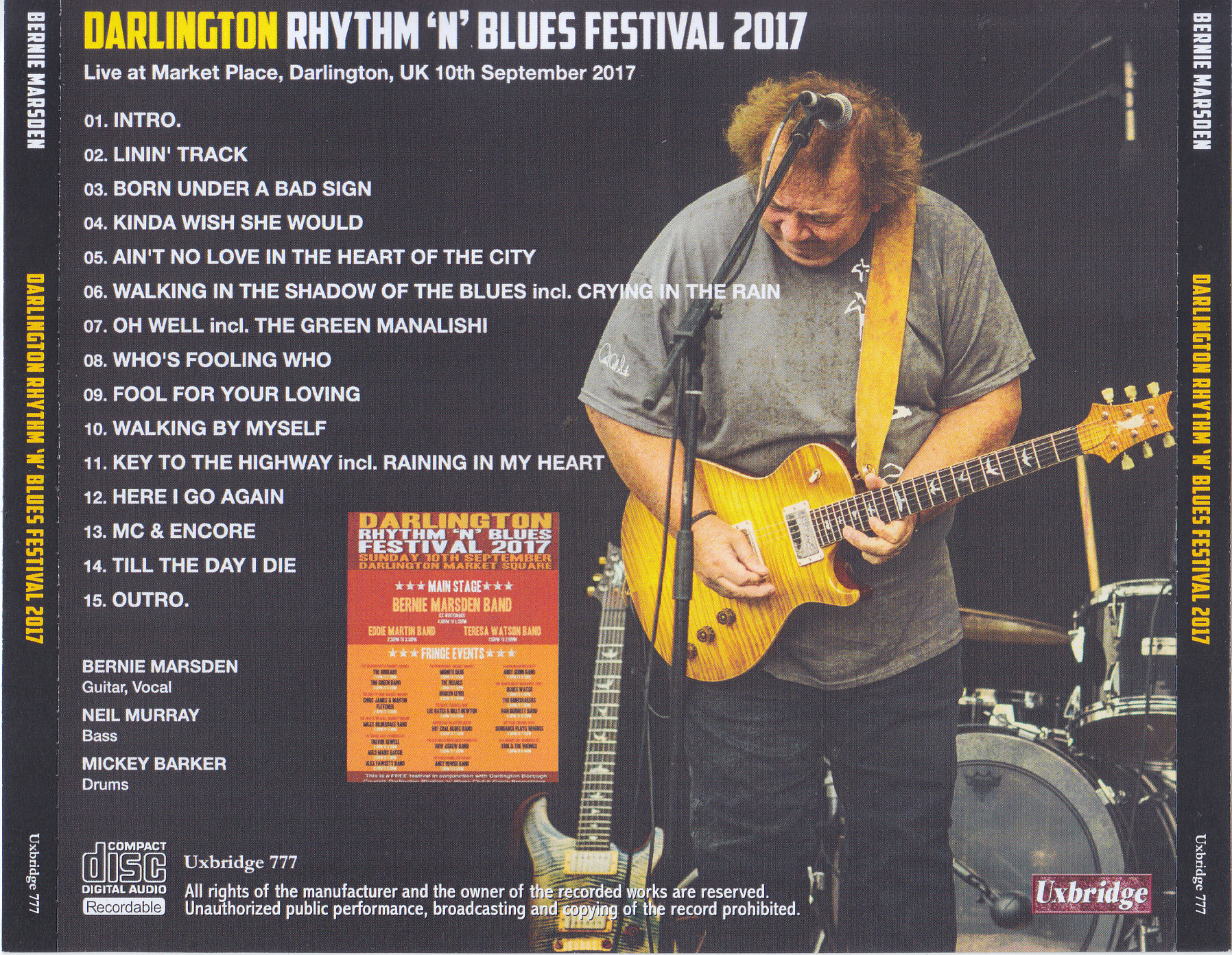 Darlington blues festival