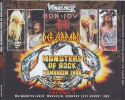 Häufig Various Artists – Monsters Of Rock Mannheim 1986 vol 2 (3Pro-CDR SE19