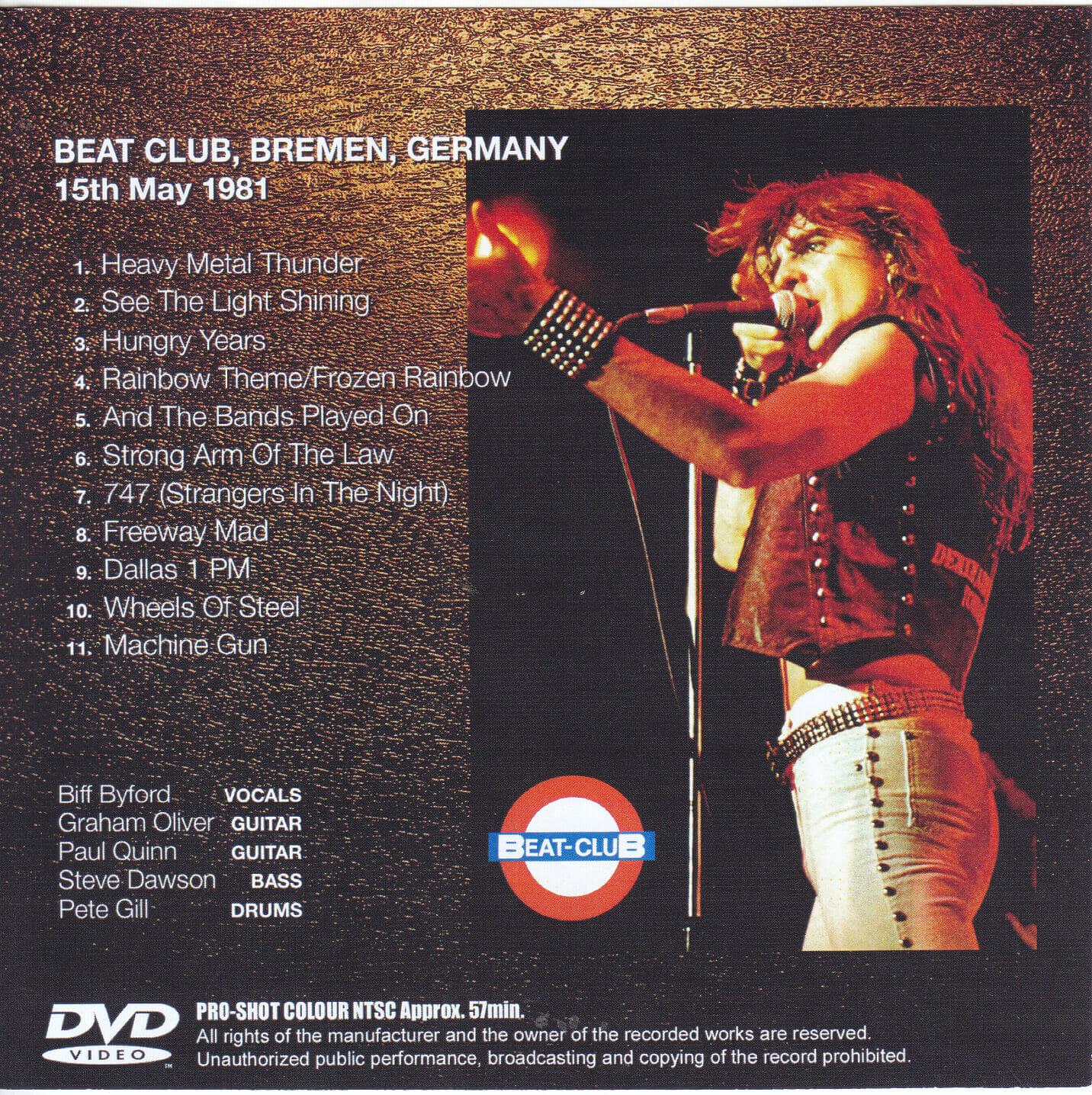 Saxon-Complete Beat Club 1981(1Single DVDR)Non Label | DiscJapan